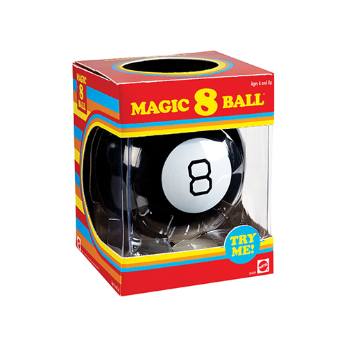 Magic 8 Ball Retro Image